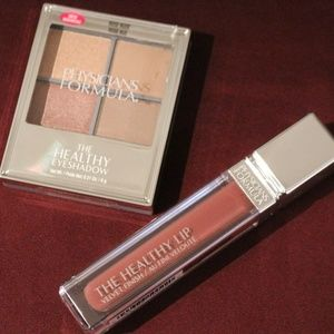 Physicians Formula eyeshadow & lip color.